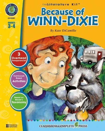 because-of-winn-dixie-literature-kit-1st-first-by-david-mcaleese-2006-perfect-paperback