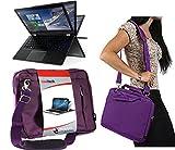Navitech Lila prime Case / Cover Trage Tasche für das Lenovo ThinkPad X1 Carbon (2015) / Lenovo ThinkPad X250
