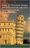 If you are interested in learning Node, then this book will get you started quickly. This is a 'no-fluff' fast-track guide to learning Node the right way. Node is great for back-end development using the power of functional programming with JavaScrip...