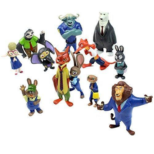 Zootropolis figuras Zootopia Caracteres 12 pedazo fijaron juguetes