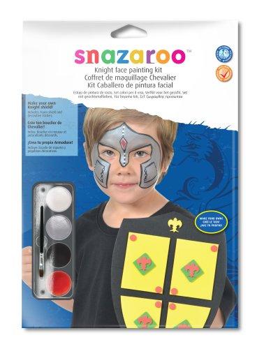 Snazaroo - 20016 - Kit Créatif De Maquillage Avec Accessoires - Modèle Chevalier