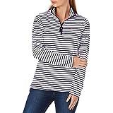 Joules Fairdale Zip Neck Sweatshirt, Navystp
