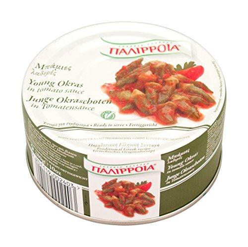 Palirria Junge Okraschoten in Tomatensauce, 6er Pack (6 x 280 g)