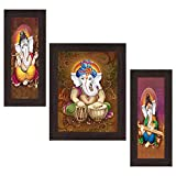 Wens 'Ganesha Indian Deity' Wall Art (MD...