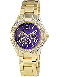 Excellanc Damen-Armbanduhr Analog Quarz Edelstahl 152103000110