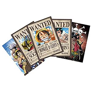 ABYstyle - ABYDCO246 - Carte postale - One Piece - Luffy Wanted Et Co