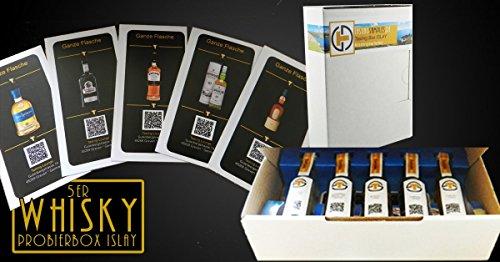 "Tasting Samples Whisky Tasting Box \""Islay\"""