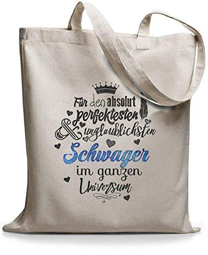 0214f54f0c934 StyloBags Jutebeutel   Tasche Für den absolut perfektesten Schwager Natur