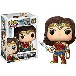 Funko Pop!- DC Figura de Vinilo Wonder Woman, colección Justice League (13708)