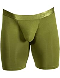 Olive Green AnatoFree Spectra 2 Boxer Brief 9inch Leg by Obviously