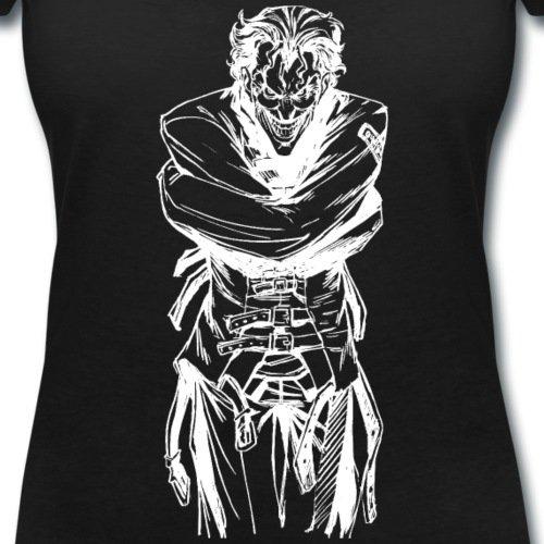 Batman Joker En Camisole De Force T-shirt col V Femme de Spreadshirt® Noir