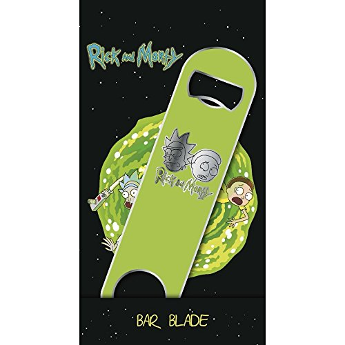 Rick & Morty Bar Blade / Bottle Opener Logo 12 cm Accessori Cucina