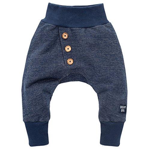 Pinokio - Big Dream - Baby Pumphose/Hose / Haremshose/Jogginghose Schlupfhose Babyhose, 100% Baumwolle, Jungen, Dunkelblau (80)