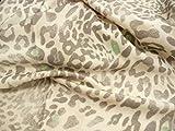 Wolle, Schurwolle, Walk, Leopardenmuster, italienischer