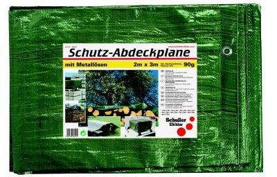 Preisvergleich Produktbild Schuller Eh'klar 46509 TERRA S90 5x6m Abdeckplane,  Gewebeplane grün,  90 g / m2,  mit Ösen,  reißfest und Wetterfest