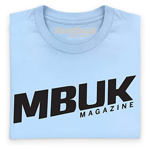 MBUK Magazine Dark T-Shirt, Herren Himmelblau