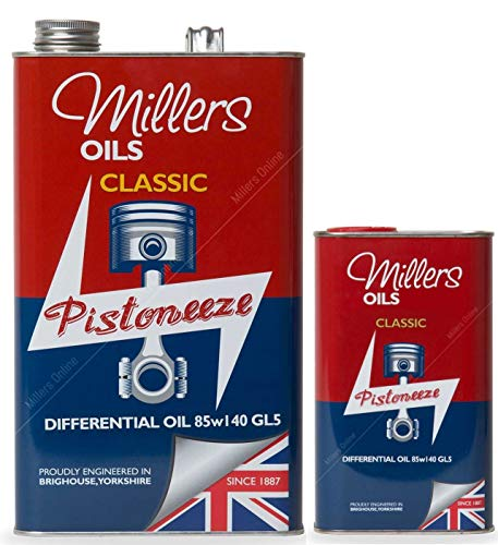 Millers Oil Pistoneeze Classic Differential Oil EP 85w140 GL, 6 Litri