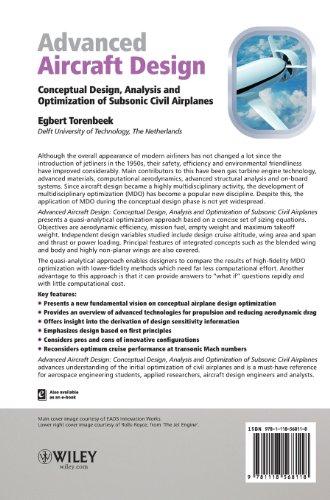 Advanced Aircraft Design: Conceptual Design, Analysis andOptimization of Subsonic Civil Airplanes (Aerospace Series)