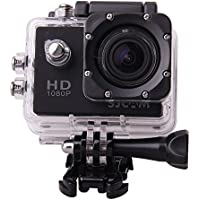 SJCAM Multi-function SJ4000 HD 1080P Waterproof Digital Video Recorder DVR Camcorder, 12 Mega pixel, 170° HD wide-angle, Multi Colors, with Waterproof Case Multiple Mounts (Black)