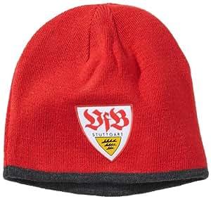 PUMA Mütze VFB Stuttgart Beanie, team regal red-dark gray, One size, 743363 02