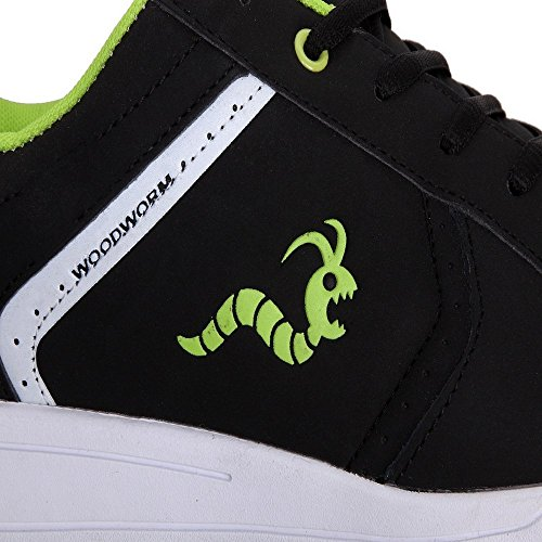 Woodworm Surge V2 Golf Shoe- Black/Neon Size 9.5