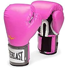 Everlast Pro Style - Guantes de boxeo rosa rosa Talla:12 onzas