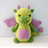 Dragon Crochet Amigurumi Pattern (English Edition)