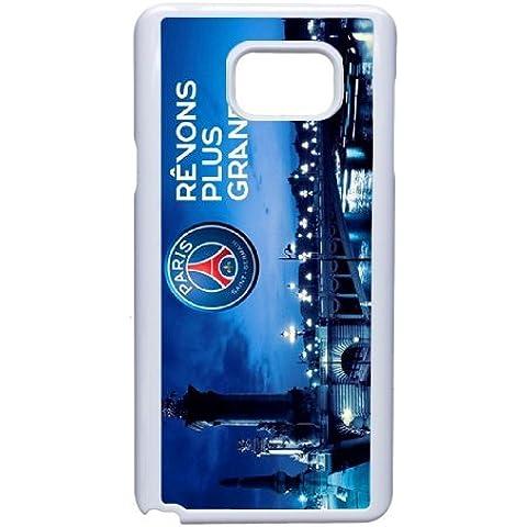 Personalised Samsung Galaxy Note 5 Full Wrap Printed Plastic Phone Case Paris st germain