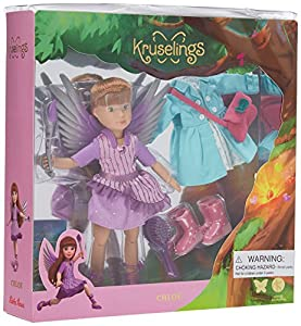 Käthe Kruse- Kruselings Chloe Pack Completo, Color Lila (26826)