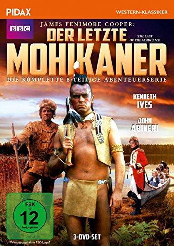 Bild von Der letzte Mohikaner (The Last of the Mohicans) / Die komplette 8-teilige Abenteuerserie nach dem Bestseller von James Fenimore Cooper (Pidax Western-Klassiker) [3 DVDs]