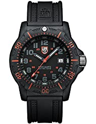 Luminox Navy SEALs Anniversary Series - Reloj analógico de caballero de cuarzo con correa negra - sumergible a 200 metros