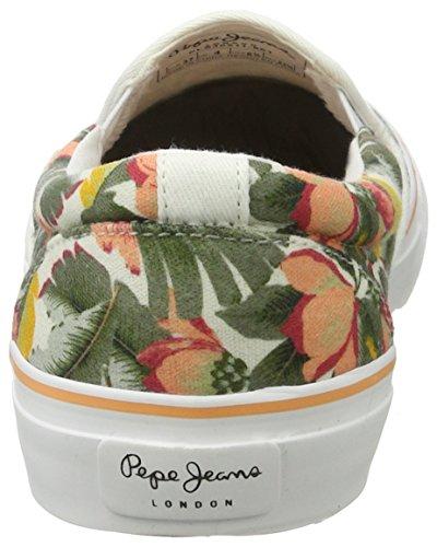 Pepe Jeans Damen Alford Ariadna Sneakers Mehrfarbig (Iron)