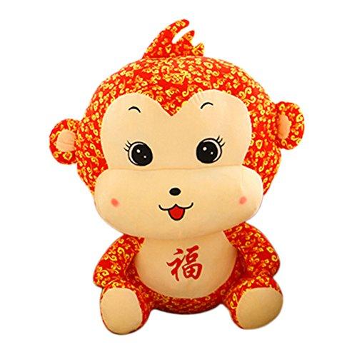 (Unternehmen Jahrestagung Geschenk Stofftier-Maskottchen Puppen, Affen, 40cm)