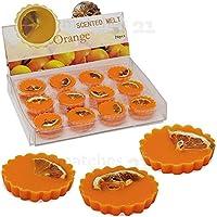 matches21 Duftwachs Orange 6 Stück Wachspads für Duftlampen intensiver Duft sehr langanhaltend Orangenduft Orangenaroma preisvergleich bei billige-tabletten.eu