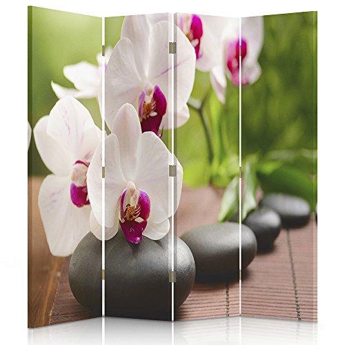 Feeby Frames Biombo Impreso sobre Lona, tabique Decorativo para Habita