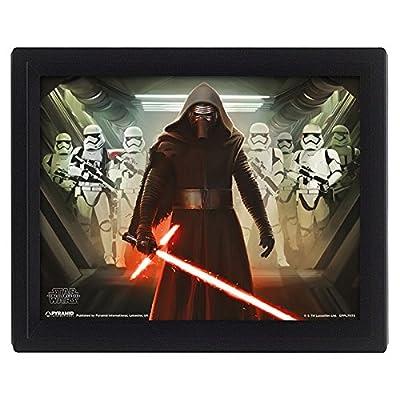 PYRAMID - Cadre Kylo Ren Relief Star Wars EP7