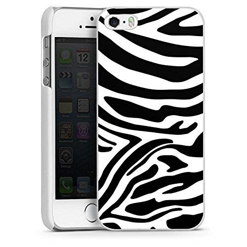 Apple iPhone 5s Hülle Case Handyhülle Zebra Animal Dschungel