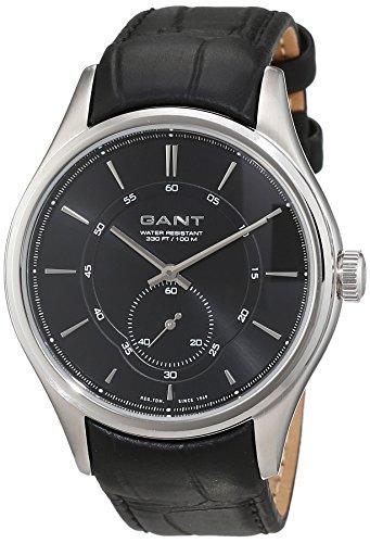 Gant Herren-Armbanduhr BRANFORD Analog Quarz Leder W70671