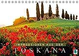 Impressionen aus der Toskana (Tischkalender 2018 DIN A5 quer): Bezaubernde Hügel, Haine und Weingärten (Monatskalender, 14 Seiten ) (CALVENDO Orte) [Kalender] [Apr 01, 2017] CALVENDO, k.A.