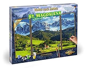 Schipper 609260760 - Pintura por número de alpinos panorámicos St.Magdalena