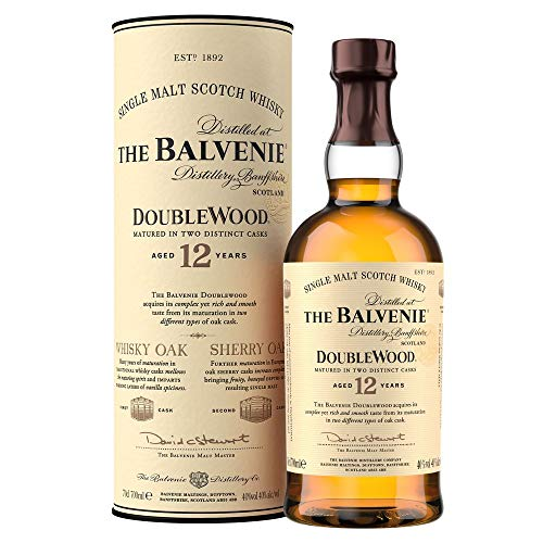 The Balvenie Doublewood Single Malt Scotch Whisky 12 Jahre (1 x 0.7 l) -