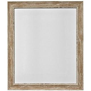 Frames by Post 16 x 12 Zoll Nordic Bild-/Fotorahmen im Antique-Look mit Glasscheibe, holzbraun