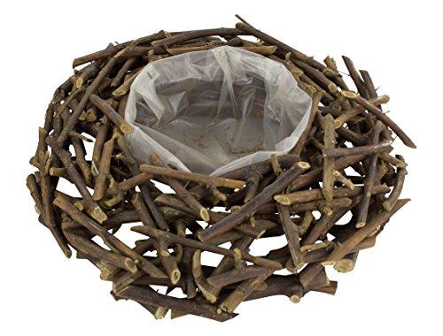 Deko Kranz aus Holz zum bepflanzen