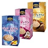 Krüger Chai Latte Classic & Exotic Sweet India Set, Mildes Milchtee Getränk, Drei Verschieden Sorten