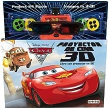 Cars 2. Libro con proyector de cine 3D: Libro con proyector en 3D (Cars / Libros singulares)