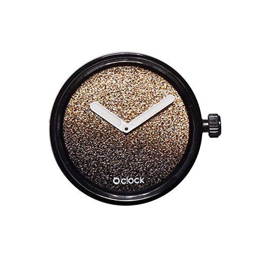 full spot meccanismo glitter dorato classic o'clock