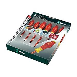 Wera 031575 Kraftform Comfort VDE Screwdriver Set (7 Pieces)