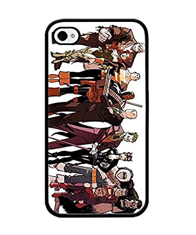 DC Comics Villains Coque Case for Iphone 4s, Protector Anti Slip Durable Compatible with Iphone 4 / 4s