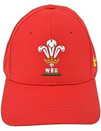 Pays de Galles WRU 2016/17 - Casquette de Rugby Huddle - Rouge/Noble