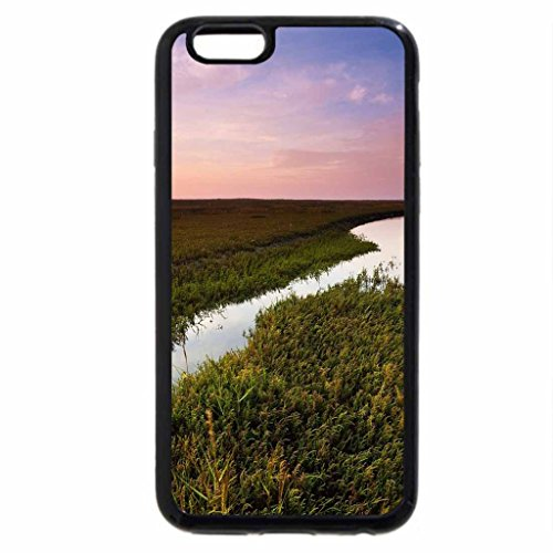 iPhone 6S / iPhone 6 Case (Black) irrigation canal and lighthouse at a distance